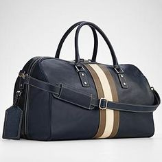 leather weekender bag for when I actual start travelling on the weekends again.