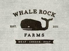 Dribbble - Whale Rock Farms logo by Mackenzie Brookshire