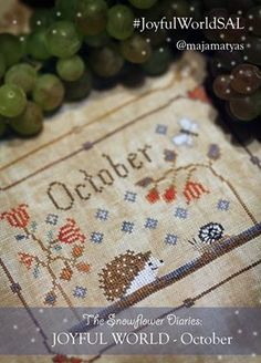 JOYFUL WORLD - OCTOBER PATTERN