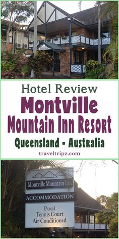 I recently stayed at the Montville Mountain Inn Resort in Queensland. This is my review of the hotel. Ice Hotel, Stay Overnight, Australia Hotels, Places Of Interest, Sunshine Coast, Hotel Reviews, Bed And Breakfast, Hotels And Resorts, Travel Around