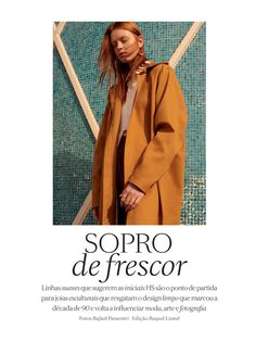 Revista Vogue H.Stern  - Coat