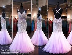 Lilac Beaded Mermaid Prom Dress-Sweetheart Neckline-Open Back-116JOL0161780 at Rsvp Prom and Pageant, your source for the HOTTEST 2016 Prom and Pageant Dresses!: