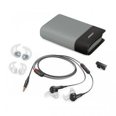 The Bose® SoundTrue® In Ear Headphones for Apple devices are ideal in ear headphones for those who like to listen to music while working out, or even just being out and about.