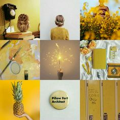Another Hufflepuff aesthetic. Cuz why not
