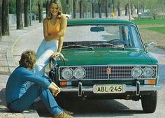 BBC - Autos - Back from the USSR: Soviet cars earn another look Vintage Ads, Vintage Photos, Old Fashioned Cars, Retro Advertising, Best Classic Cars, Retro Cars, Honda Accord, Car Pictures, Russia
