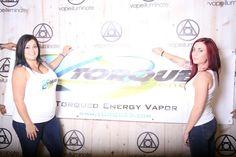 Torqued Energy girls at the vape illuminate booth Central Florida Vapor Expo 2014  ►Repin Follow us: @Vapeilluminate on Twitter | Vapeilluminate on Facebook | vapeilluminate.com
