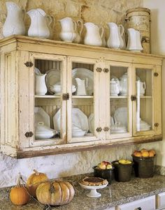 Love these cabinets for the family room