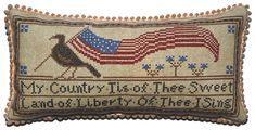 My Country from La-d-da cross stitch designs