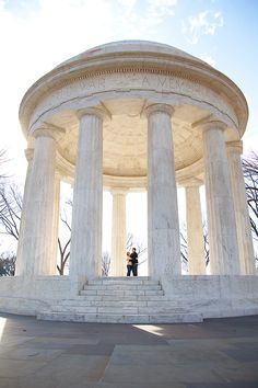 This is one of my favourite monuments in DC. I love the neo-classical style.