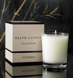 Ralph Lauren Candle Box-already have one, in need of many others! Candle Packaging, Candle Labels, Tea Packaging, Packaging Design, Candle Box, Candle Jars, Chai, Light Up The Candle, Pink Perfume