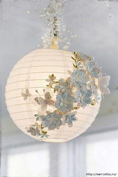 WEDDING DECORATIONS TUTORIALS - WEDDING PAPER FLOWERS
