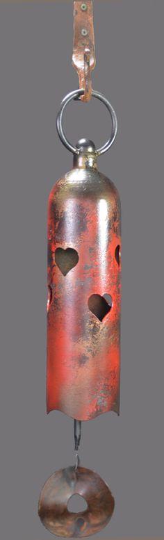 Bells - Twisted Horn Forge Temple Bells, Bell Art, Metal Art Sculpture, Plasma Cutting, Junk Art, Ding Dong, Iron Work, Find Objects, Welding Projects