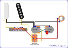 The Guitar Wiring Blog - diagrams and tips: Telecaster Direct-Through Mod