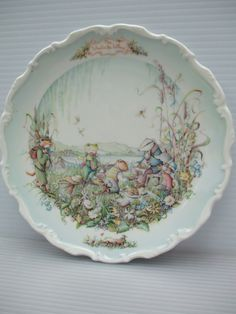 "Royal Albert The Wind in The Willows Collector's Plate ""The Picnic"" 