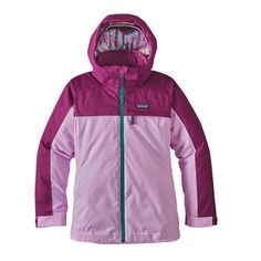 Patagonia Girls   Insulated Snowbelle Jacket - Dragon Purple DRGP  Snowboarding Outfit, 1 Girl d858eeac486