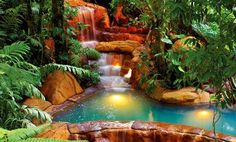 Arenal Hot Springs Costa Rica Jpg