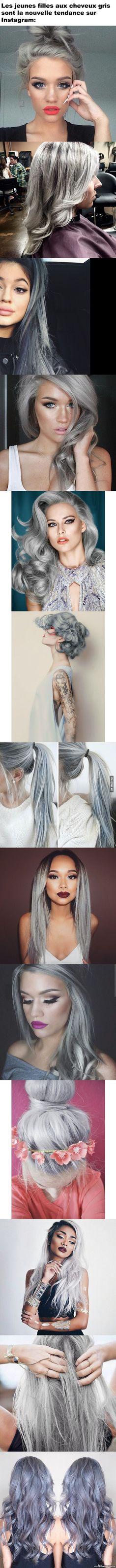 Filles aux Cheveux Gris