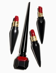 Louboutin launches lipstick!! http://www.stylemepretty.com/2015/08/05/your-lips-just-got-a-whole-lot-more-kissable-thanks-to-christian-louboutins-new-line-of-lipstick/