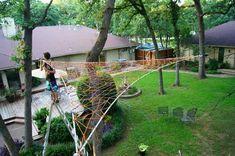 Triple Tree home made hammock!