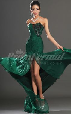 Trumpet/Mermaid Long Prom Dress. Need something like this for March.