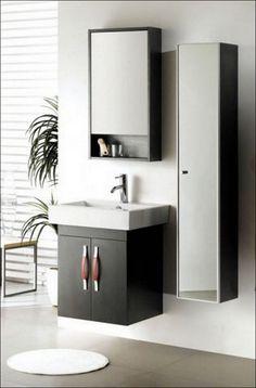 Bathroom Wall Cabinet White Wood