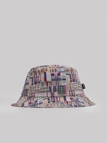 5576d064b3c9b The Quiet Life - Liberty Madras Bucket Burgundy