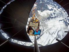 Photo of the Day!   Hot air balloning over theAustrian Alps. Photo bySébastien Verougstraete.
