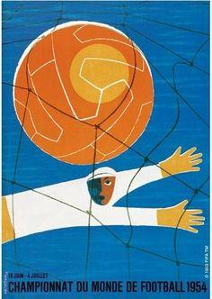 Poster oficial da Copa do Mundo de 1954 / Official poster of the 1954 Football World Cup. Soccer Art, Soccer Poster, World Football, Soccer World, Football Soccer, Football Posters, Soccer Sports, Retro Football, World Cup Russia 2018