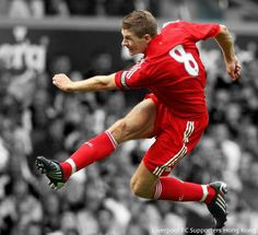 Steven Gerrard of Liverpool Football Club