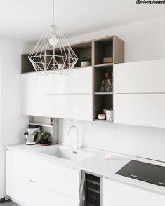 Kitchen Island Trolley, Kitchen Islands, Casa Milano, Kitchen Dining, Kitchen Cabinets, Open Space, Luxury Living, Sweet Home, Interior Design