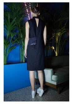 EMBRACE BRAND | SS16 Lookbook | Black Shirt Dress | Contemporary Fashion | #embracebrand