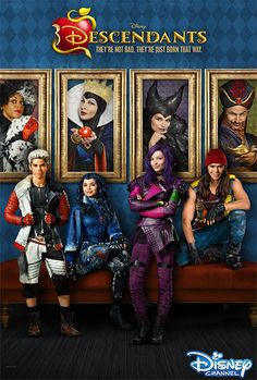 """Disney Channel shared this information about the great ratings that their DCOM """"Descendants"""" received! We LOVED this Disney Channel Original Movie! Disney Channel Movies, Disney Channel Original, Disney Channel Stars, Disney Stars, Original Movie, Disney Movies, The Descendants, Disney Descendants Movie, Carlos Descendants"""