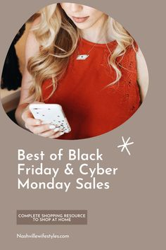 Click here to see the best black friday and cyber monday sales on Nashville Wifestyles! It's one of the biggest sale times of the year that we typically spend counting down for, standing in long lines on Thanksgiving eve and pulling all nighters for. You will love the best black friday deals 2020. Best black friday clothing sales and black friday clothing deals. Black friday sale clothing. These sales are great for thanksgiving outfit women comfy. #blackfriday #cybermonday #sales