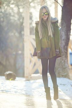 winter style - love this look