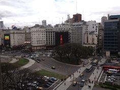 Ainda uma parte da vista do hotel em Buenos Aires!