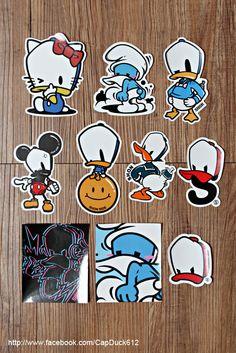 Shon Side Cap Duck Sticker Poster By Shon Side Via Behance