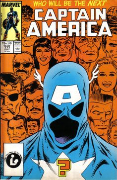 Cover for Captain America (Marvel, 1968 series) #333 [Direct Edition]