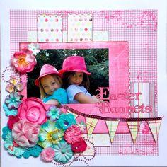 Easter Bonnets  *MyCreativeSketches* - Scrapbook.com