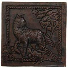 Copper Tile (TL953) Fox Design