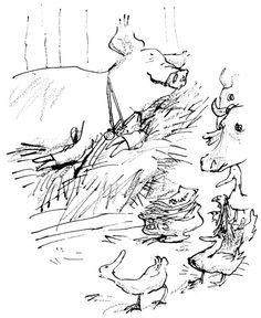 Quentin Blake illustrates Folio's Animal Farm