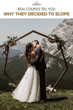 Why do couples choose to elope? Find out when these real couples tell all. Elope Wedding, Wedding Vows, Dream Wedding, Wedding Day, Wedding Dresses, People Getting Married, Real Couples, Elopement Inspiration, Intimate Weddings