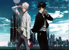 Makishima Shougo & Kougami Shinya #psychopass