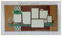 Scrapbooking Kits: Jackson Scrapbook Kit