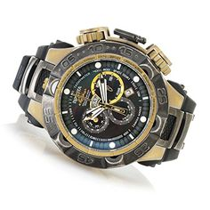 Invicta Mens Subaqua Noma V Men Stainless Steel Gunmetal  Gold Tone Stone Distressed 5050E Quartz Watch ** Check this awesome product by going to the link at the image.