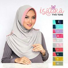 Jilbab Instant Isaura Two Tone with pad jersey zoya Diy Clothes Tutorial, Hijab Tutorial, Abaya Fashion, Muslim Fashion, Cara Hijab, Hijab Style Dress, Abaya Style, Instant Hijab, Hotel Uniform