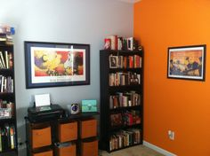 Great orange paint color.  For the Home Office.... Orange!