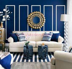 Parlak Mavi ile Duvarlarınıza Canlılık Katın