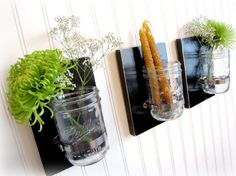 Can be used for storage, flowers, candles, etc. These would be great in a dining room or even a bathroom!