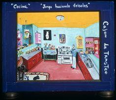 """""""Jorge haciendo frisoles"""" Artsy, Art History, Pintura"""