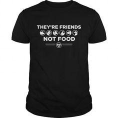 Animals are Friends, NOT Food T Shirts, Hoodies, Sweatshirts